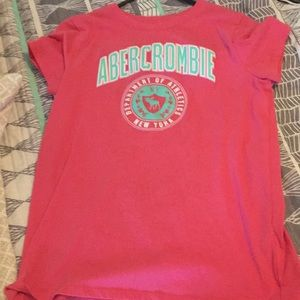 Pink Abercrombie Shirt